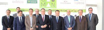 Inauguración del I Congreso de Zonas Industriales de Castilla-La Mancha 'Zincaman'