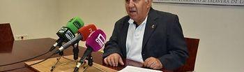 El concejal de Promoción Cultural, Carlos Gil.