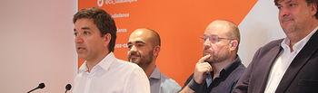 Rafael Pérez Borda, Israel Marco, Alejandro Ruiz y Fernando Parlorio.