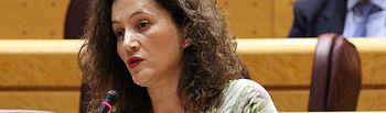 La senadora popular Silvia Franco