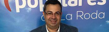 Aurelio Alarcón, concejal de Promoción Económica y Empresarial en el Ayuntamiento de La Roda,.