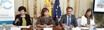 La ministra de Justicia, Dolores Delgado, ha presentado los actos con motivo del 15º aniversario de la Fundación Pluralismo y Convivencia.