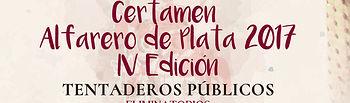 Cartel IV Alfarero de Plata.