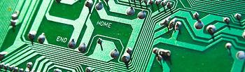 Imagen de un circuito de hardware.