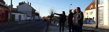 Diputación de Guadalajara arreglará la travesía que une Torrejón del Rey con la Comunidad de Madrid.