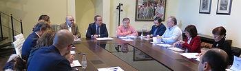 Primera reunión de la Comisión Técnica Delegada de Coordinación Presupuestaria. Foto: JCCM.