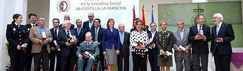 Cospedal preside el III Acto de Entrega de Medallas al Merito Social Edicion. Foto: JCCM.