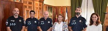 Tres nuevos agentes han tomado posesión y se incorporan al Cuerpo de la Policía Local de Talavera de la Reina.