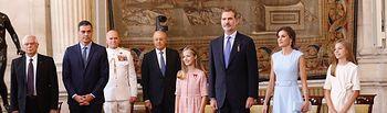 El Rey Felipe VI en el quinto aniversario de su proclamación como jefe de Estado.