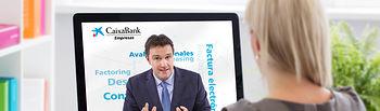 CaixaBank lanza un servicio de asesoramiento especializado para empresas a través de videoconferencia