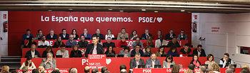 Reunión del Comité Federal del Psoe. Foto: @inmeca