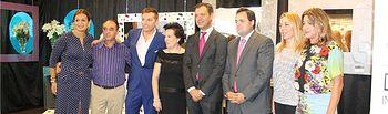 El presidente de la Diputación visita a los expositores albaceteños presentes en la Feria del Mueble de Yecla