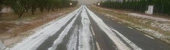 ASAJA Albacete señala que las fuertes tormentas de agua y piedra producen daño en más de 4.000 hectáreas en La Manchuela.