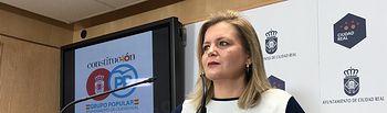 La viceportavoz del Grupo Municipal Popular, Aurora Galisteo.