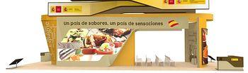 El Ministerio de Agricultura, Alimentación y Medio Ambiente promociona los productos españoles en la Feria Alimentaria 2016. Foto: Ministerio de Agricultura, Alimentación y Medio Ambiente