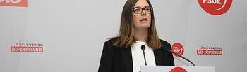 La vicesecretaria general del PSOE de Toledo y diputada nacional por esta provincia, Esther Padilla.