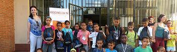 Clínicas Sanium recibe a los niños saharauis con un kit de bienvenida para el cuidado de su salud bucodental