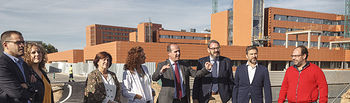 Visita y recepción de la obra del segundo acceso al Hospital Universitario. Foto: ©JRopero