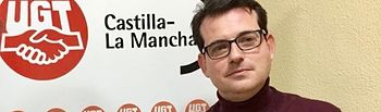 José Azcoitia, portavoz regional del Sindicato Profesional de Agentes Medioambientales de Castilla-La Mancha de la FeSP-UGT,.