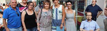 Los concejales del equipo de gobierno asisten a las fiestas de los barrios de Albacete
