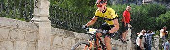 Xavi Borrás vencedor de la Copa durante la segunda etapa