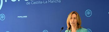 An Guarinos en el acto `Tres años de desgobierno y destrucción de Page y Podemos en Castilla-La Mancha´