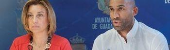 Encarnación Jiménez y Armengol Engonga presentan los acuerdos de la Junta de Gobierno