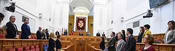Pleno de las Cortes de Castilla-La Mancha celebredo hoy en Toledo. (Fotos: José Ramón Márquez // JCCM).