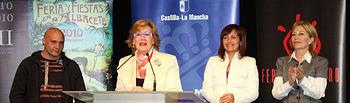 La consejera de Cultura, Turismo y Artesanía, Soledad Herrero, inauguró hoy en Albacete la Feria de Teatro de Castilla-La Mancha, que se celebra hasta el próximo 15 de abril.