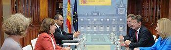Firma de un convenio con la Fundación Síndrome de Down de Madrid. Foto: Ministerio de Justicia.