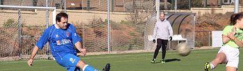 Núñez ha participado en el Partido de Fútbol 7 Solidario de NNGG- CLM.