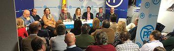 Junta Directiva del PP de  Guadalajara.