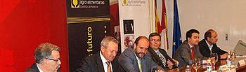 Martínez Guijarro en la Asamblea General de Cooperativas Agroalimentarias de CLM