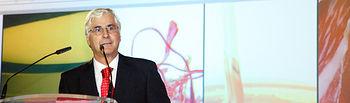 El presidente de Castilla-La Mancha, José María Barreda, en una imagen de archivo, en la pasada edición de los premios del concurso Gran Selección que premia y reconoce al sector agroalimentario castellano-manchego, celebrada en Talavera de la Reina.