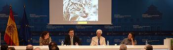 Jaime Haddad subraya la implicación de las Administraciones y los ciudadanos en la preservación del lince ibérico como pieza clave del monte mediterráneo. Foto: Ministerio de Agricultura, Alimentación y Medio Ambiente