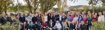 Santiago Cabañero se reunió con las agrupaciones socialistas de la comarca en Higueruela