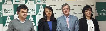 Convenio de colaboración entre ASAJA Toledo y Liberbank