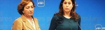 Marisa Soriano y Rosa Romero