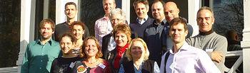Participantes en la reunión de la Universidad de Gloucestershire.