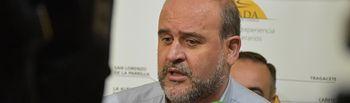 José Luis Martínez Guijarro, vicepresidente primero del Gobierno regional.