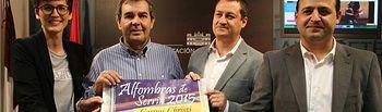 El alcalde de Elche de la Sierra, Asensio Moreno, presenta la programación del Corpus Christi 2015