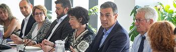 Pedro Sánchez se reúne con representantes del sector de la Formación Profesional     Foto Eva Ercolanese.
