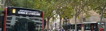 Autobús Albacete.