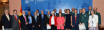 G Tejerina entrega condecoraciones Mërito Agrario. Foto: Ministerio de Agricultura, Alimentación y Medio Ambiente