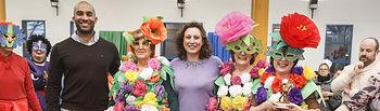 Carnaval 2018, concurso disfraces jubilados y pensionistas, primer premio de grupos