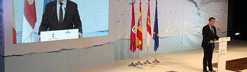 Santiago Cabañero participó en el acto regional con motivo del Día Mundial del Agua organizado por el Gobierno de Castilla-La Mancha.