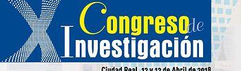 Cartel X Congreso Investigación SATSE Ciudad Real.