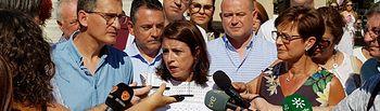 Adriana Lastra, vicesecretaria general del PSOE y portavoz del grupo socialista en el Congreso.