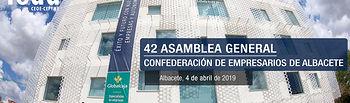 42º Asamblea General FEDA. 4 abril 2019