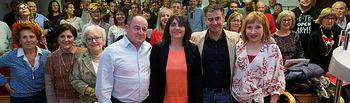 El cabeza de lista al Congreso de los Diputados, Manuel González Ramos, mantiene un encuentro con afiliados en la Casa del Pueblo de Albacete